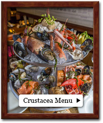 Crustacea and Mollusc Menu